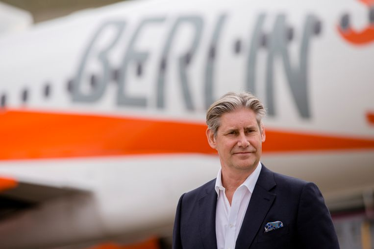 Easyjettopman Johan Lundgren Beeld NurPhoto via Getty Images