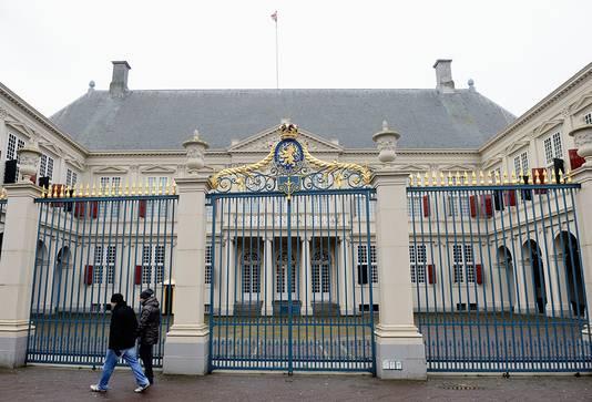 Paleis Noordeinde is het werkpaleis van Willem-Alexander en krijgt een 'beperkte' opknapbeurt.