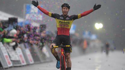 """Sweeck wou in slotcross iets terugdoen voor ploegmaat Vanthourenhout: """"Het heeft niet mogen zijn"""""""