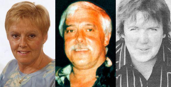 Slachtoffers drievoudige moord cafetaria zwembad Brakel in 1997 - Sylva De Smet, Jonny De Cubber en Marnic Manssens
