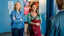 Katelijne Damen is slechts 4 jaar ouder dan 'Luizenmoeder'-collega Els Dottermans, maar krijgt toch steeds oudere rollen te spelen.