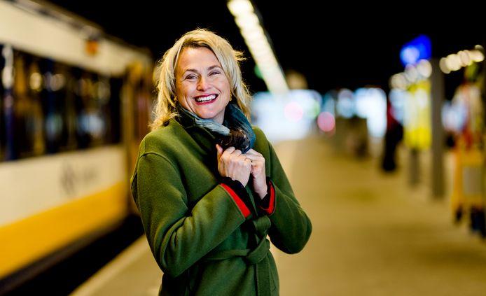 Marja Rintel van de NS.
