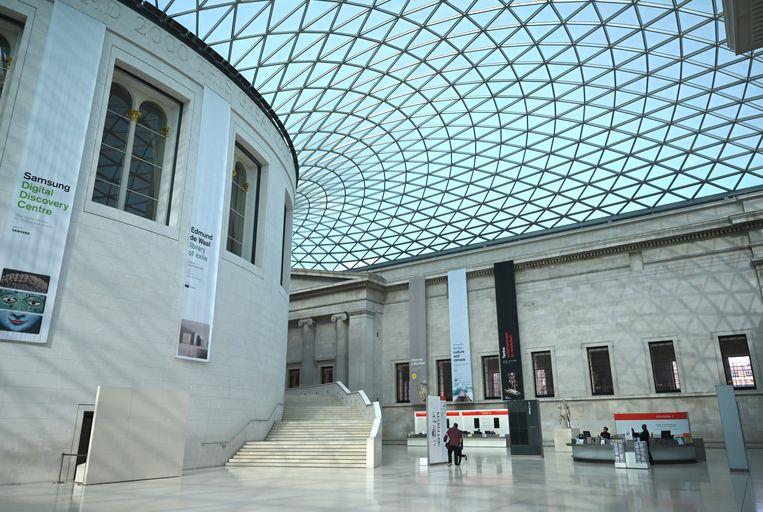 Op museumpas.be kan u onder meer het British Museum in Londen virtueel bezoeken. Beeld EPA
