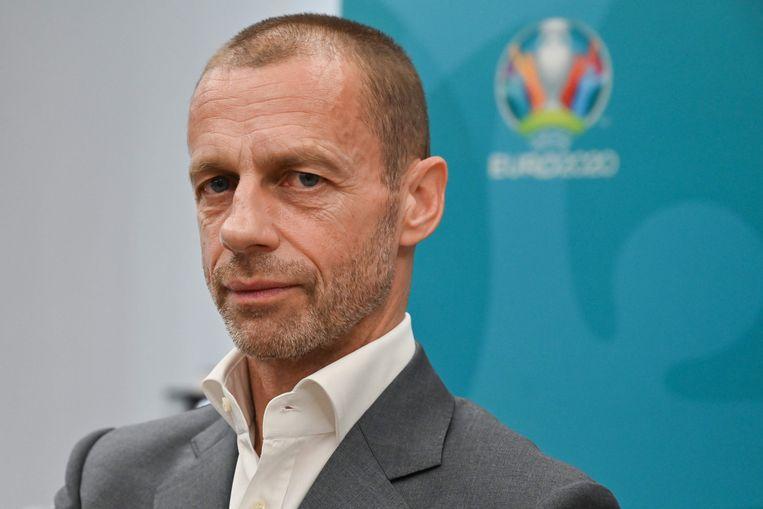 Aleksander Ceferin. Beeld AFP