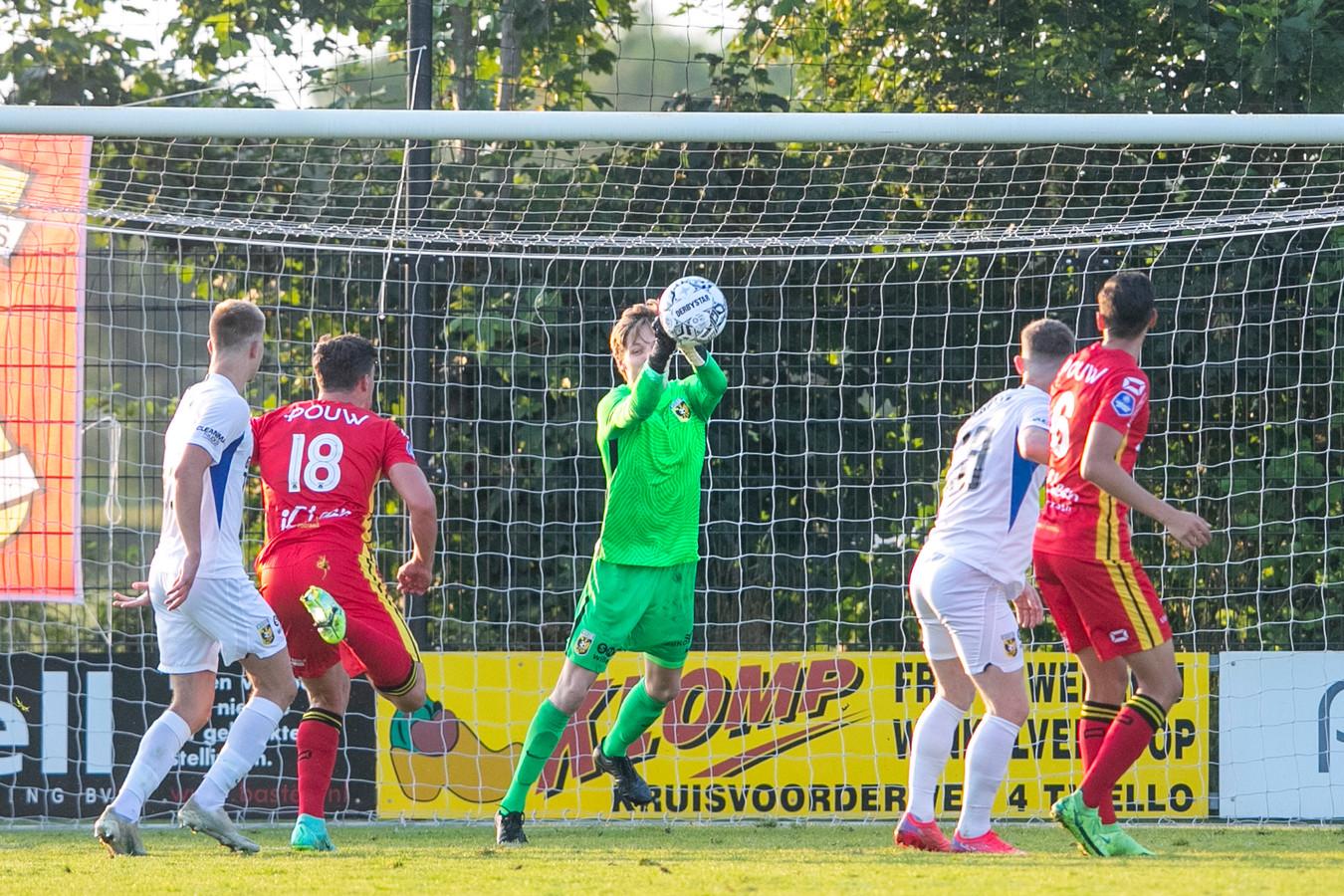 Vitesse-keeper Daan Reiziger speelde de tweede helft.