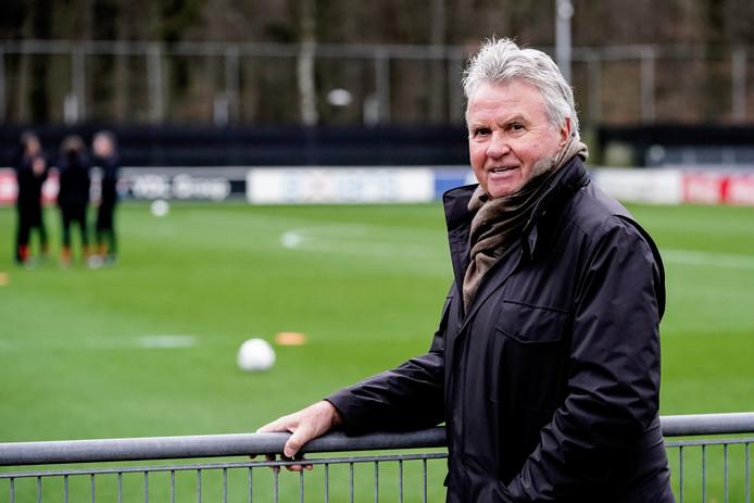 Guus Hiddink is als adviseur terug bij PSV.