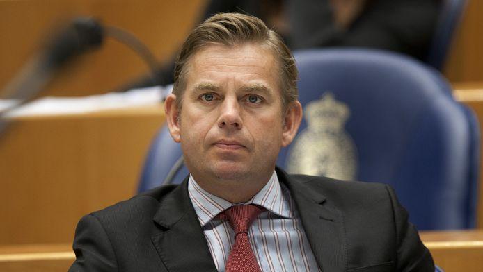 Vicefractievoorzitter van D66 Gerard Schouw. © ANP