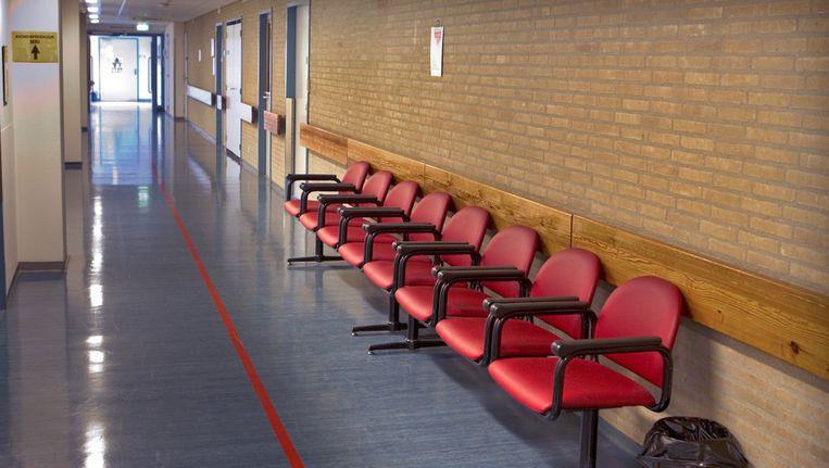 Een wachtkamer in het Slotervaartziekenhuis. Archieffoto. Beeld ANP