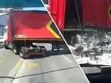 Vrachtwagenchauffeur laat lading bier vallen