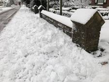 Irritatie over sneeuwruimen fietspad Rijksweg