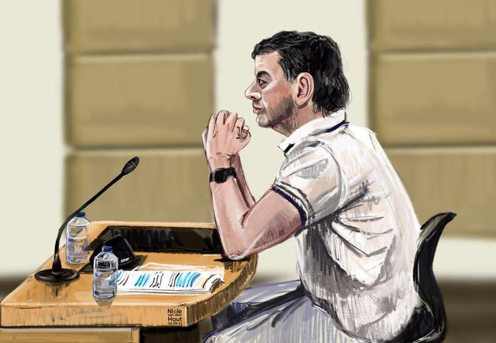 Fabian E. moet acht jaar de gevangenis in en krijgt vervolgens tbs met dwangverpleging voor het doden van Irina Balitska uit Oekraïne.