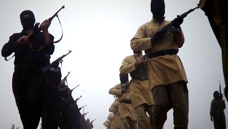 Strijders van ISIS hebben Mosul veroverd. Beeld afp