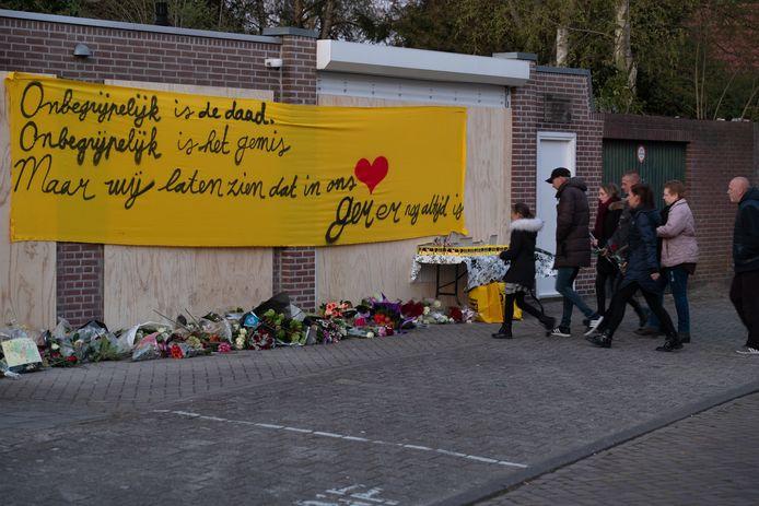 Herdenking Ger van Zundert in Breda.