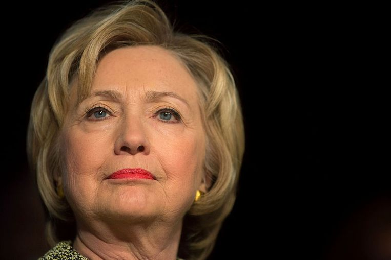 Hillary Clinton. Beeld Getty Images