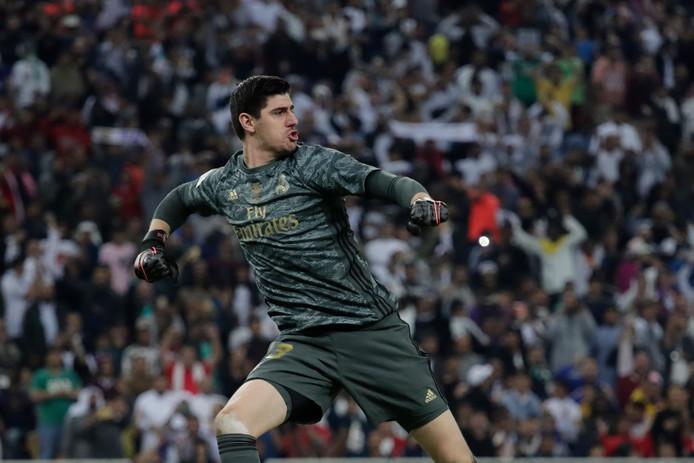 Thibaut Courtois s'est érigé en héros du Real Madrid en finale de la Supercoupe d'Espagne.