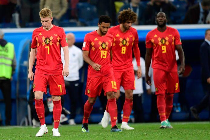 Le dernier Belgique-France laisse un souvenir amer aux Diables Rouges.
