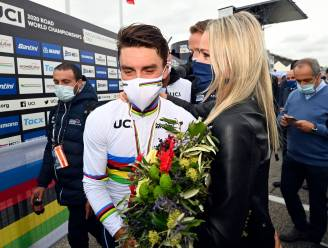 "Partner Marion Rousse na overwinning Alaphilippe: ""Heel fier op hem"""