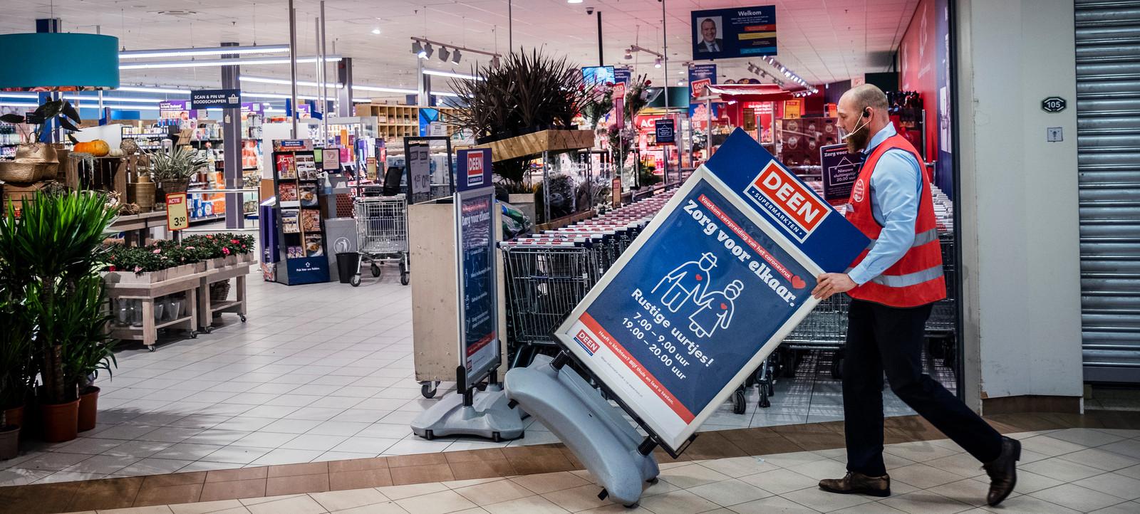 Supermarktketen Deen uit Noord-Holland verkoopt tachtig winkels aan Albert Heijn, Vomar en Dekamarkt.