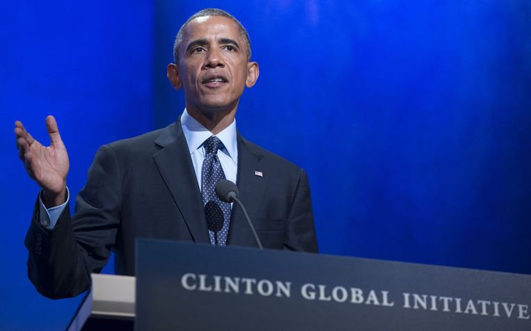 Barack Obama. Beeld anp
