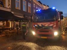 Brand in restaurant op Grote Markt in Breda