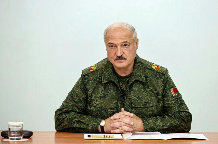 De Belarussische president Loekasjenko. Beeld EPA