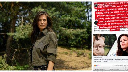 """Astrid Coppens slachtoffer van fake news: """"Dit zijn gevaarlijke producten"""""""