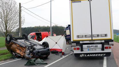 Man (67) sterft na frontale botsing met truck