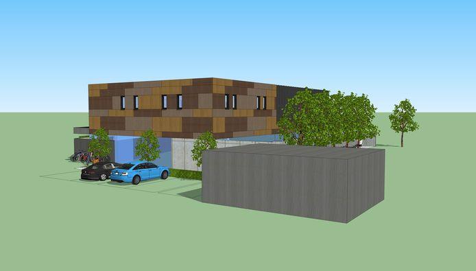 Er was al een ontwerp voor een nieuw dierenasiel in Denderwindeke (Ninove).