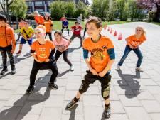 Koningsspelen in Tiel: lekker dansen en kickboksen in het zonnetje