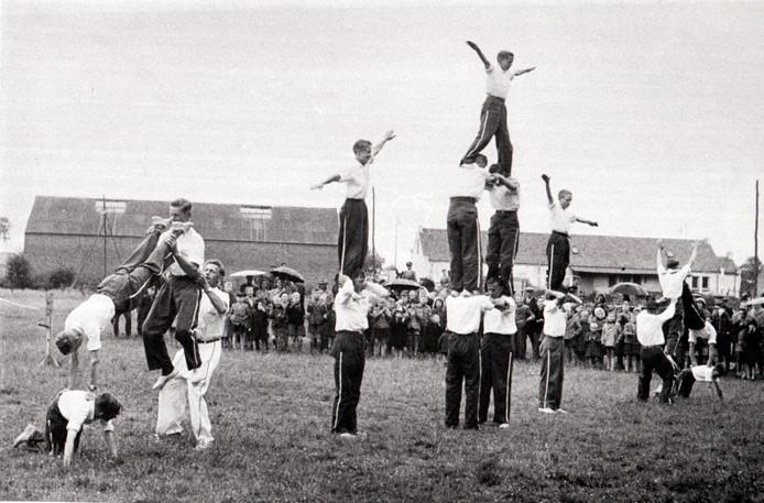 KPJ-kringdag in Hapert, 1982.