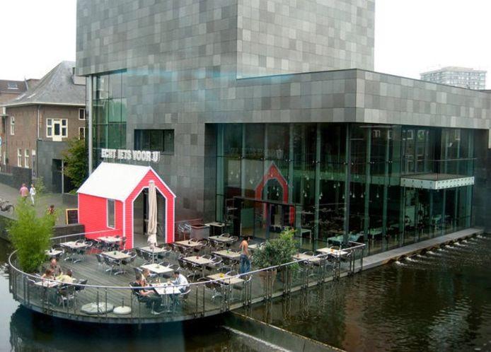 De achterzijde van het Van Abbemuseum.