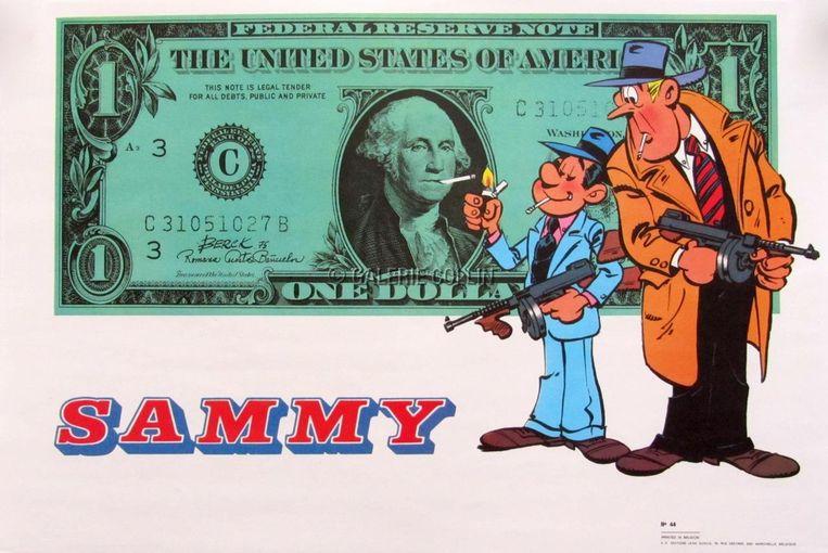 Bercks succesreeks was 'Sammy', over Sammy en Jack, twee lijfwachten tijdens de Amerikaanse drooglegging in de jaren twintig. Beeld RV Berck