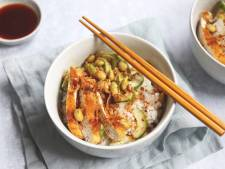 Wat Eten We Vandaag: Sushi bowl met krokante kip