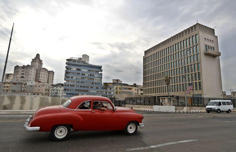 Het Havanasyndroom dook voor het eerst op in 2016 bij Amerikaanse ambassademedewerkers in de Cubaanse hoofdstad Havana.   Beeld Anadolu Agency via Getty Images