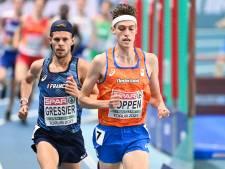 Teleurstelling voor Nijmeegse atleet Mike Foppen: nét geen finaleplek op EK