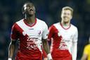 Jean-Christophe Bahebeck en Simon Gustafson bezorgden Utrecht bij rust al een 0-2-voorsprong.