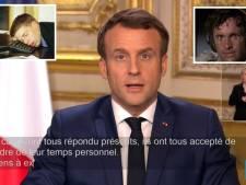 Les sous-titres de l'allocution d'Emmanuel Macron ont beaucoup amusé les internautes