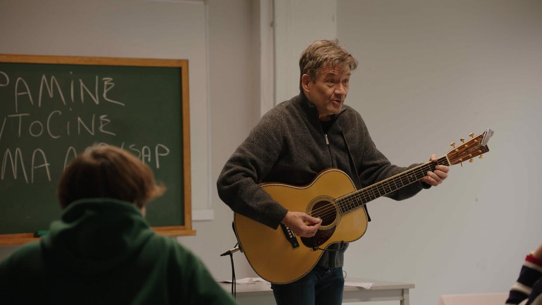 Bart Peeters in 'De klas' Beeld © VRT