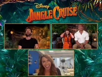 """""""Dat is incest!"""" Cast 'Jungle Cruise' giert het uit na verspreking journaliste"""