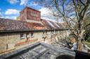 Het brouwerskasteel, vanop het nog aan te leggen b&b terras zal je een mooi zicht hebben op de brouwerij
