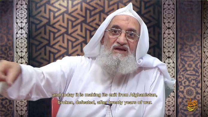 Extrait du nouveau message vidéo annonçant le retrait américain d'Afghanistan.