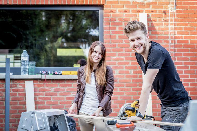 Valerie en Brent gaven hun huis een meerwaarde van 15.026 euro. Goed voor de tweede plaats.