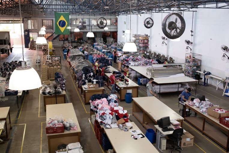 De fabriek van Angelo Bucioloti.   Beeld gabriela portilho