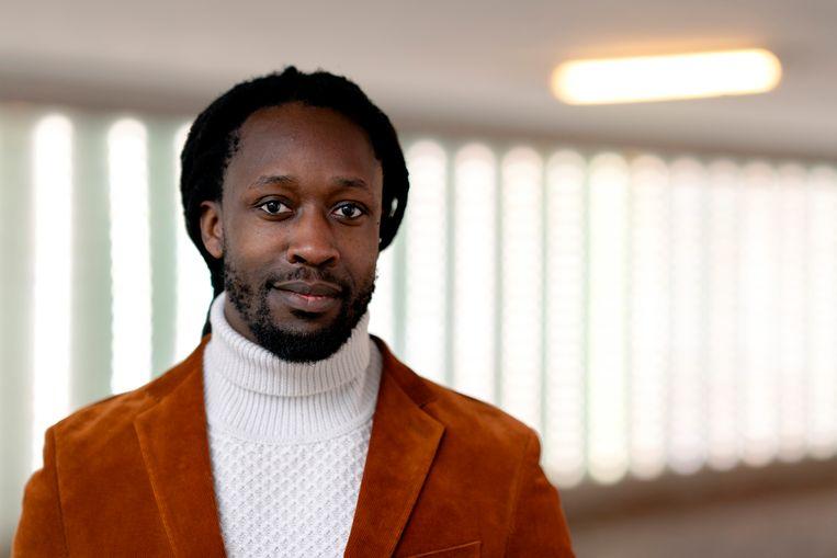 Medeoprichter van Omroep Zwart, Akwasi Owusu Ansah. Beeld ANP