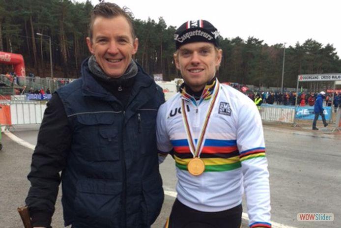Rudi Van De Sompel en Eli Iserbyt
