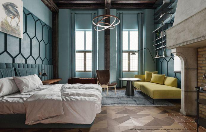 Interieurontwerp van Hotel Sint Joris