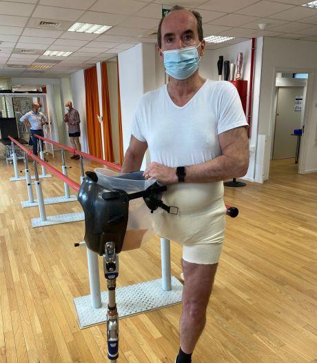 """Atteint d'un cancer, un Anversois se fait voler sa voiture et sa jambe artificielle: """"Qu'ils laissent le sac avec la prothèse quelque part"""""""