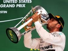 Hamilton voor derde maal wereldkampioen