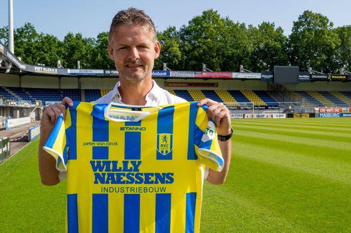Peter Uneken wordt assistent-coach bij RKC.