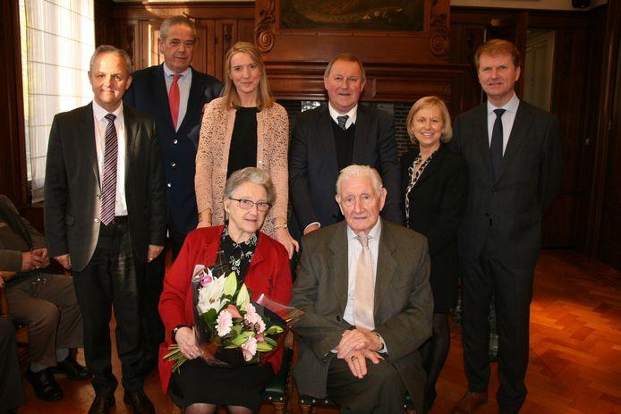 Lucien en Maria vierden hun briljanten huwelijksverjaardag.